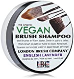 LONDON BRUSH COMPANY Vegan Young Coconut Milk Shampooing Solide pour Pinceau de Maquillage English Lavender
