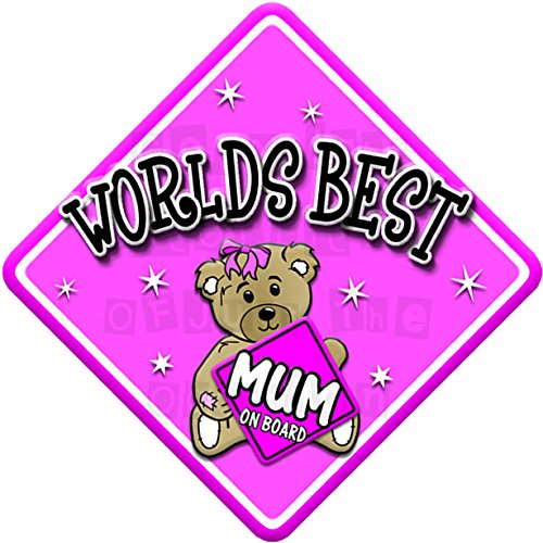 TED WORLDS BEST MUM on board novelty non personalised