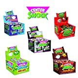 5er Mix Center Shock Kaugummi (Cola, Cherry, Apfel, Mystery, Scary Mix 5 x 100 Stück)