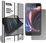 dipos I Blickschutzfolie matt passend für HTC One X10 Sichtschutz-Folie Bildschirm-Schutzfolie Privacy-Filter