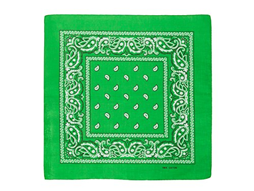 shenky Bandana Farbe Apfelgrün Größe one-size