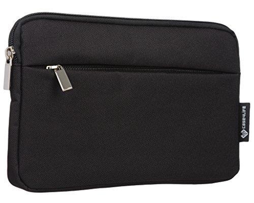 Case4Life–Funda 10'funda para tablet de protección acolchada/Case + bolsillo con cremallera para Apple iPad Air, iPad Air 2, iPad–Garantía de por vida