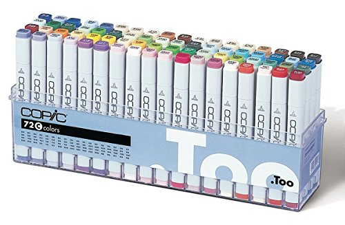 Copic Marker - Set C - 72er Set
