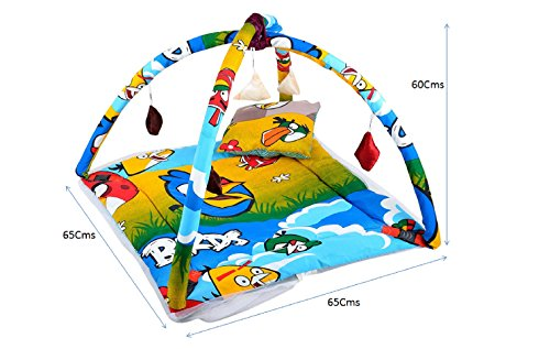 Feathers-Nature's Touch Cotton Mosquito net cum play gym(0-8 Months)