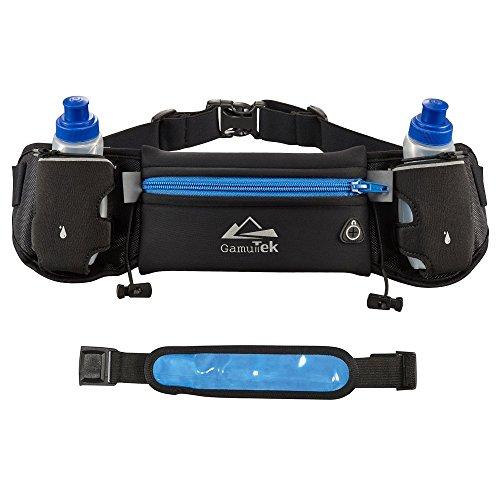 GamtTek Hidratación cinturón con botellas de agua: #1 mejor recomend