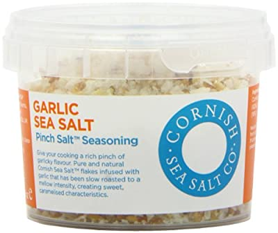 Cornish Pinch Garlic Sea Salt 55 g (Pack of 4)