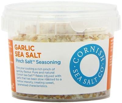 Cornish Pinch Garlic Sea Salt 55 g (Pack of 4)