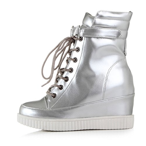 YE , Bottes classiques femme Silber