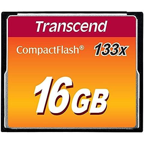 Transcend TS16GCF133 - Memoria Compact Flash de 16 GB