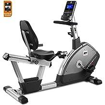 BH Fitness - Bicicleta Estática Reclinada Tfr Ergo Dual + Dual Kit Be