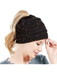 SWEDREAM Sombrero Invierno Gorros de Punto Gorras para Mujeres Crochet Cálido Suave Sombreros de Esqui