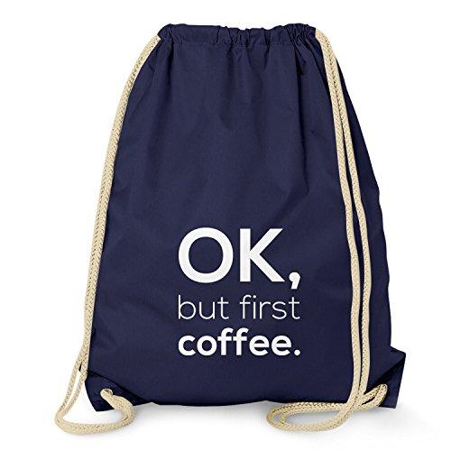 NERDO OK, but first coffee. - Turnbeutel, ()