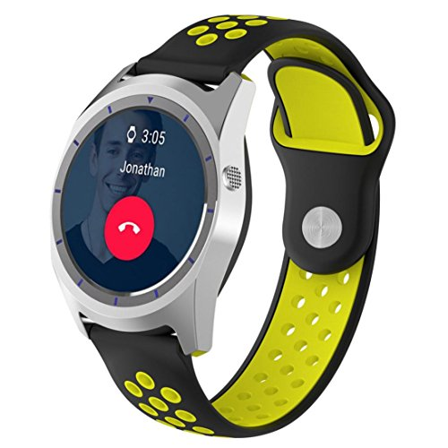 sunnymi Smart Watch Multifunctional Adult Boys And Girls Student Children's Electronic Watches, Outdoor Watches, Cycling Watches Sport GPS (E)