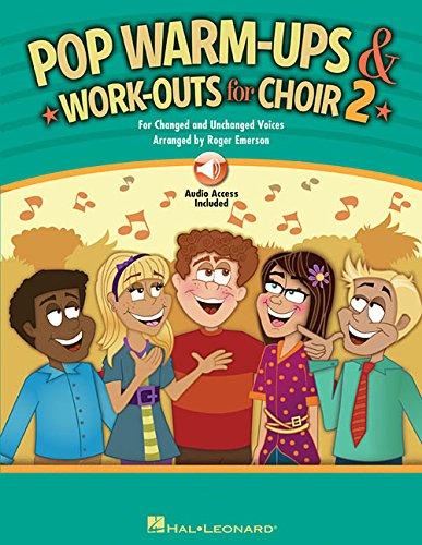 Pop Warm-Ups And Work-Outs For Choir - Volume 2 (Book & Online Audio) - Ups Emerson