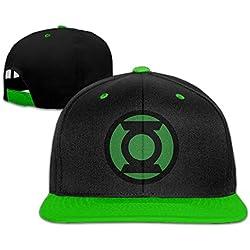 Gorra Plana Green Lantern Ajustable