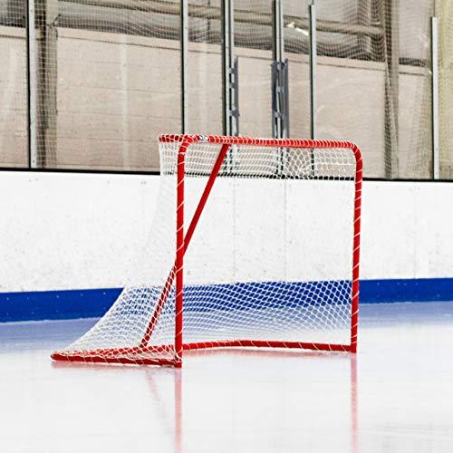 Net World Sports Eishockey Tore - 1,8m x 1,2m - wählen Sie entweder das Regelung-Tor (3,9cm Stahlrahmen) oder professionelles Tor (5,1cm Stahlrahmen) aus. (Regelung-Tor)