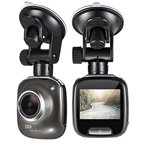 """Lavuky DR08 Mini Dash Kamera 2"""" Nachtsicht Auto Kamera, 1080P Full HD Bildschirm mit 170°"""