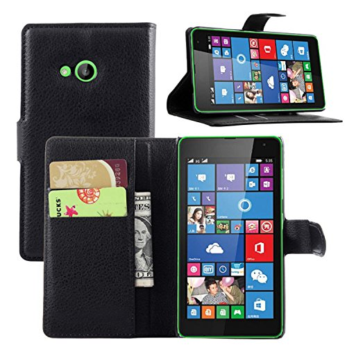 a2ce7778cb9 Ycloud Funda Libro para Nokia Microsoft Lumia 535, Suave PU Leather Cuero  con Flip Cover