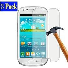 [3pieza] PLT24Samsung Galaxy S3/S3Neo tanque prueba de rotura de cristal, Protector de pantalla, protector de pantalla, cristal, vidrio templado endurecido, cristal libre de burbujas, anti arañazos, ultra transparente