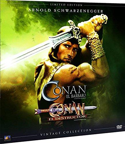 Conan 1+2 Colección Vintage Funda Vinilo [DVD]
