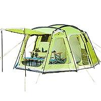 skandika copenhagen family dome tent - 6 person, green