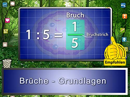 Brüche - Grundlagen (Bildungs-zähler)