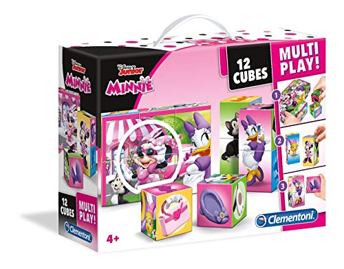 Minnie Mouse-licenze 41506-Cubos multiplay, 12Unidades