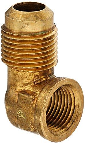 Anderson Metals Corp 714050–08061/2–Zoll Flare X 3/8–Zoll Eisen Rohr, weiblich Gewinde, 90Degree Elbow (0806 Flare)