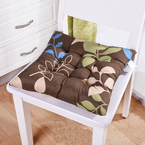 Ouneed® Sitzkissen Stuhlkissen , Indoor / Outdoor Garten Patio Home Küche Büro Sofa Stuhl Sitz Soft Kissen Pad (A) Outdoor Patio Kissen Stuhl