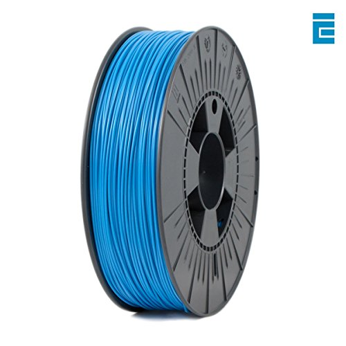 ICE Filaments ICEFIL1PLA007 PLA filament, 1.75mm, 0.75 kg, Bold Blue