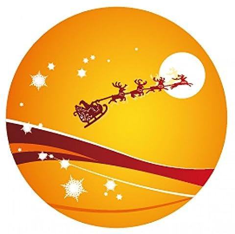 1art1 92343 Weihnachten - Der Weihnachtsmann Und Sein Rentier Schlitten