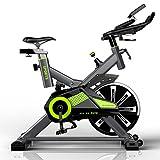 K-Y Indoorcycling Bikes Innenfahrrad, Übungsfahrrad, Drehfahrradstudio-Fahrradmaschine. (Farbe : Green)