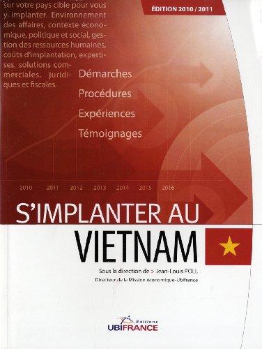 S'implanter au Vietnam par Jean-Louis Poli
