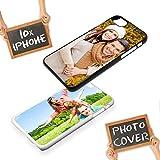 PixiPrints Handyhülle für Apple iPhone-Serie mit eigenem Foto und Text * Bedrucktes Schutz Cover Case, Hardcase Farben:Weiß, Hardcase Apple:Apple iPhone XS