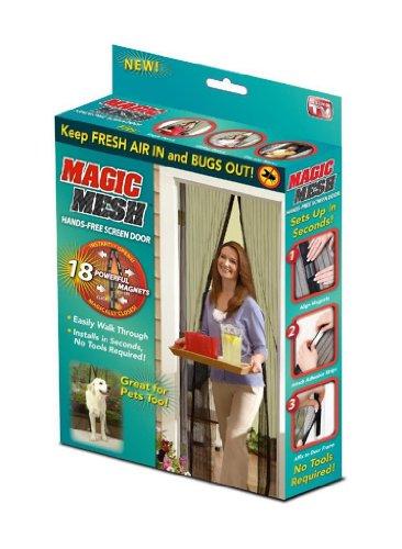 Rideaux anti-moustiques magnétique