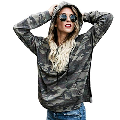 tianwlio damen kapuzenpullover frauen hoodie langarm frauen camouflage kapuzen bluse tops sweatshirt sweatshirt kapuzenpullover shirt pullover