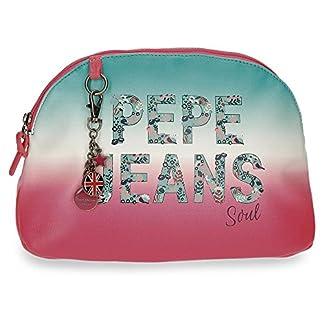 Pepe Jeans Nicole Neceser de Viaje, 30 cm, 7.8 Litros, Multicolor
