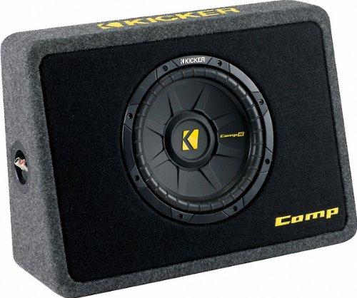 KICKER Bassreflexbox TCompS102 (TCWS102) Kicker Subwoofer