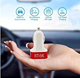 Stok 5.1 Amp Output With 3 Usb Port Compatible Certified Car Charger For Apple Iphone, Samsung, Micromax, Htc, Nokia, Oneplus, Xiaomi & All Other Smartphones And Tablets