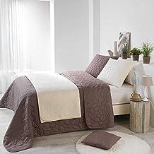 Amazon.fr : couvre lit taupe - Douceur d\'Intérieur