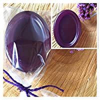 Lavender and rosemary plastic free shampoo bar wrapped in Biodegradable alternative to plastic