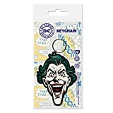 DC Comics - Porte-clés caoutchouc The Joker 6 cm