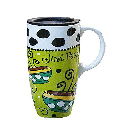La Grande contenance Creative Peinture Mug en céramique Tasse £ ¨ Vert £ ©