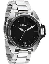 Nixon Herren-Armbanduhr XL Supreme Analog Quarz Edelstahl A396000-00