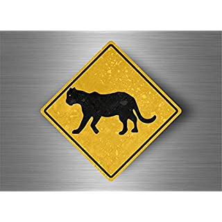 Akacha Aufkleber Sticker Auto Sign Achtung australien straßenschild Panther