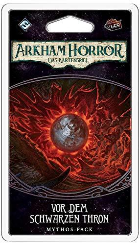 Arkham Horror - Das Kartenspiel LCG - Vor dem schwarzen Thron - Gebrochene Kreis-Zyklus 6 | DEUTSCH -