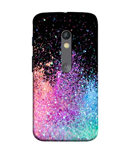 Pinaaki Designer Printed Soft Silicone Back Case Cover For Motorola Moto X Play