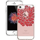 Coque iPhone SE Mandala, ESR iPhone 5s / 5 / SE Coque Silicone Transparente Motif...