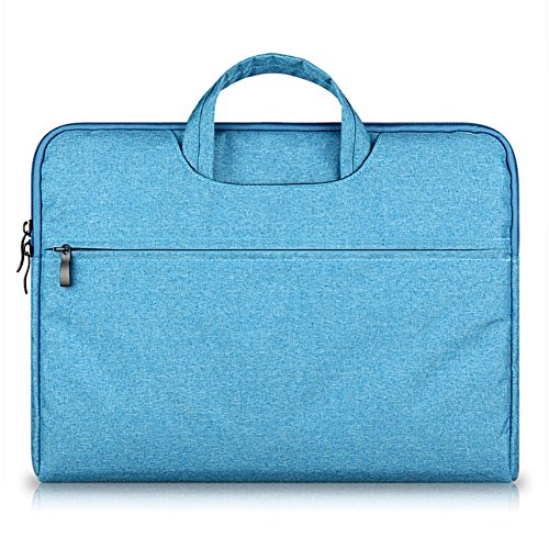 GADIEMENSS Water-resistant Laptop Sleeve Case Bag Portable Computer handbag For Apple Macbook Air Pro and other Notebook 11.6 inches Blue (Revolve 810 Fall)