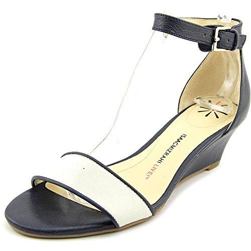 isaac-mizrahi-katie-femmes-us-65-noir-large-sandales-compenses
